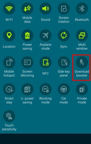 How to use Galaxy Note 4 download booster? - Galaxy Note