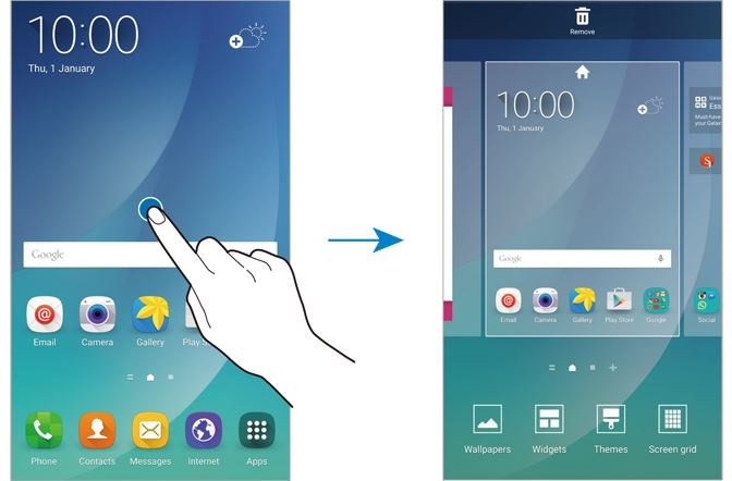 How to disable flipboard briefing on Galaxy Note 5? - Galaxy