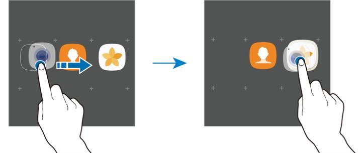create app folders in Galaxy Note 7 home screen?